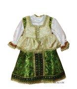Русский костюм «Сударушка зеленый»