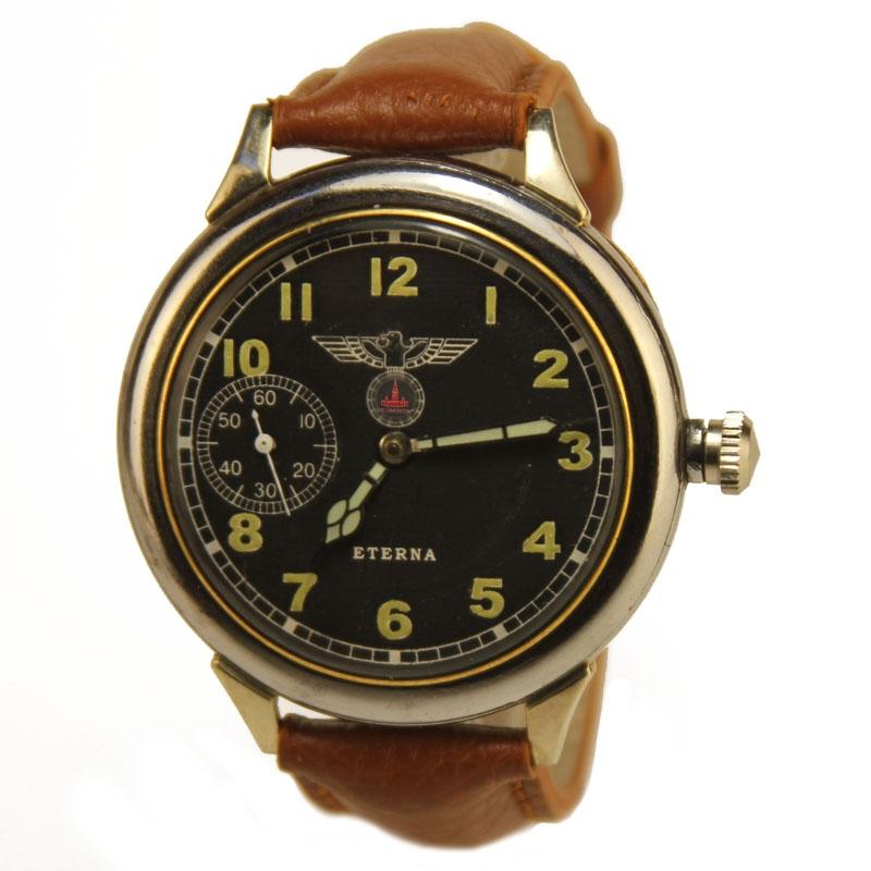 Часы Eterna трофейные - Часы Eterna периода второй мировой войны
