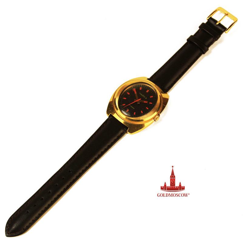 золотые часы ника фиалка