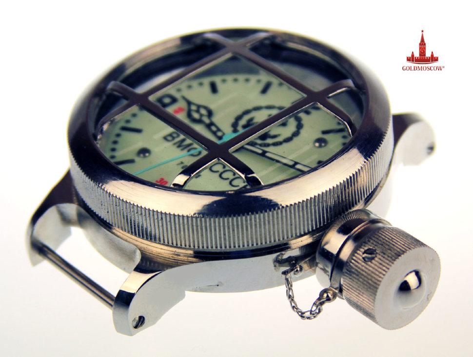 Часы с решёткой водолазные