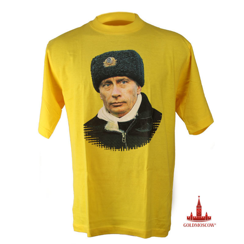 Футболка с Путиным «ГЛАВКОМ» - photo#33