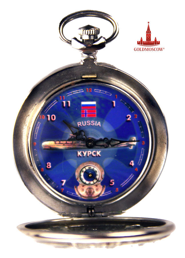российские часы подводная лодка