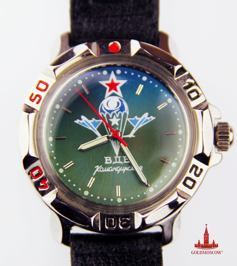 Новые командирские часы в Королёве. Часы хронограф