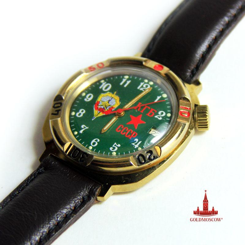 Часы командирские Пограничные - Красивые и редкие подарочные пограничные часы завода Восток