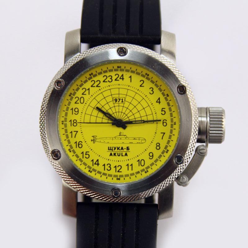 часы акула подводная лодка