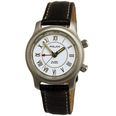 Купите мужские наручные часы с будильником.