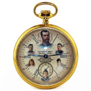 "Pocket watch ""Emperor"" gold plated"