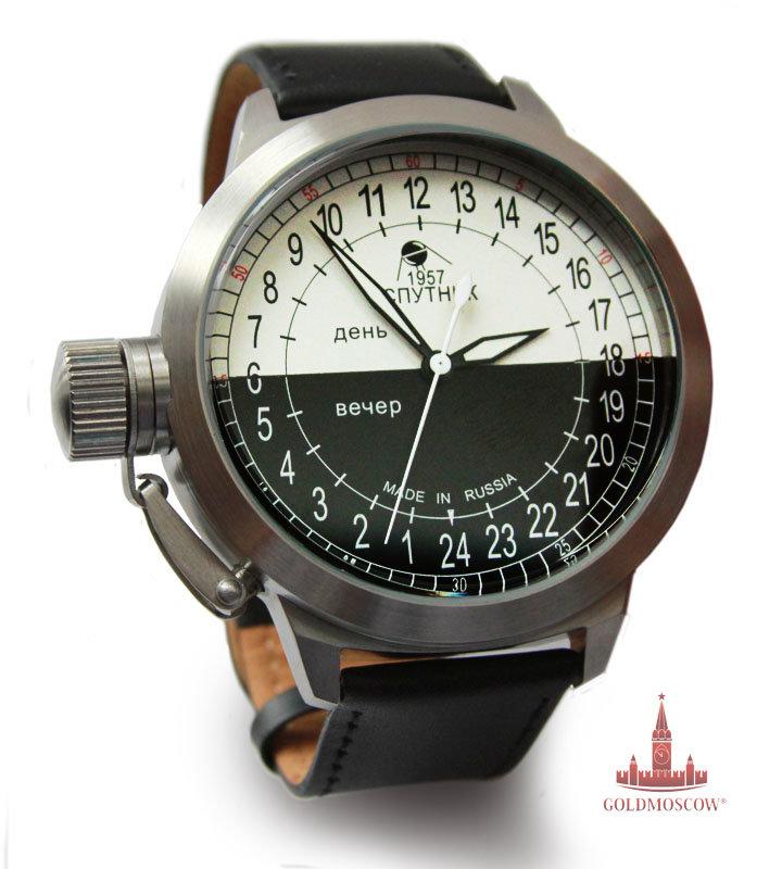 Мужские механические наручные часы Штурманские Спутник