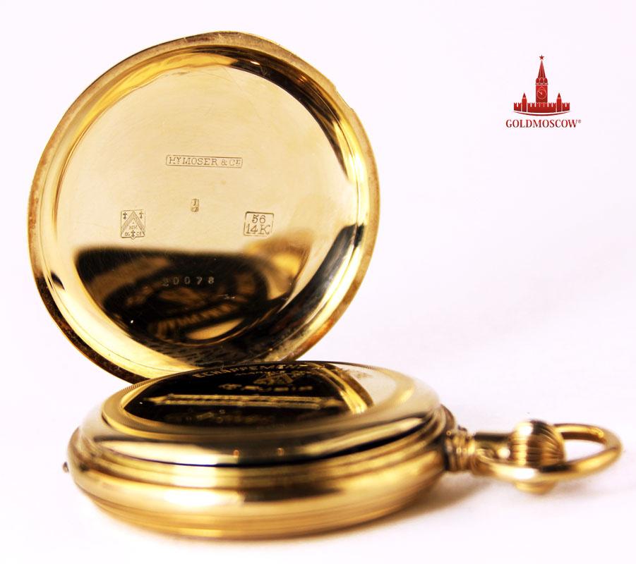 Карманные стоимость золотые мозер часы стоимость генрих кан часы
