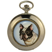 "Pocket watch "" French bulldog"""