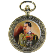 "Pocket watch ""I. V. Stalin"" quartz"