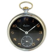 "Pocket watch ""Black salute"""