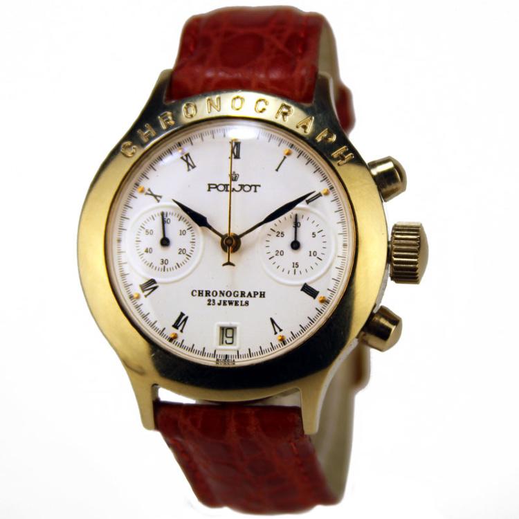 Chronos «время» + grapho «пишу») механизм, позволяющий замерять короткие промежутки времени, подобно секундомеру.